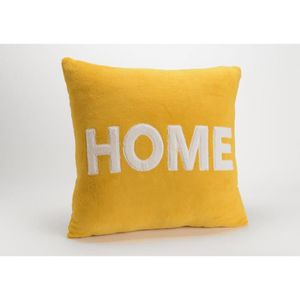 COUSSIN Coussin home Moutarde 50x50