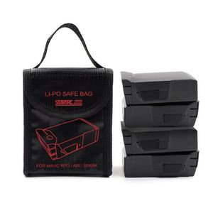 DRONE 1pc LI-PO Antidéflagrant Fireproof Safe Bag Couver