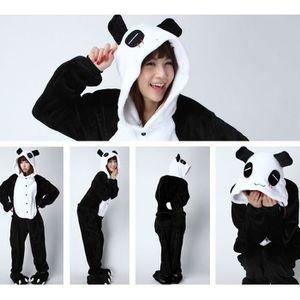 chaussures exclusives vente moins chère livraison gratuite Pyjama adulte panda