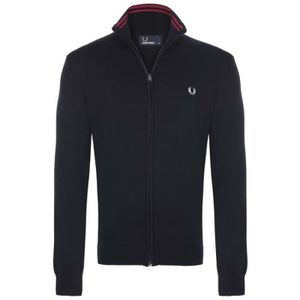 PULL Fred Perry Homme Pull Fermeture Eclair