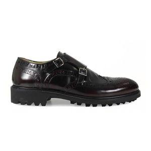 pas Chaussure cher Vente Achat homme bordeau gTwBqY1