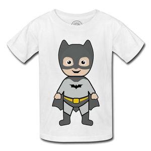 86b625b4113a9 T-SHIRT T-Shirt Enfant Bébé Batman Dessin Mignon