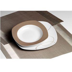 Service de table assiettes achat vente service de for Set de vaisselle costco