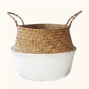 PANIER A LINGE TOPTW Osier Panier A Linge Pot Plante sac Pliable