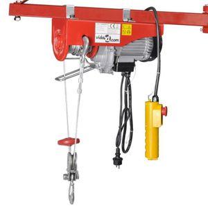 TREUIL - PALAN Palan électrique 500 W 100/200 kg Freinage automat
