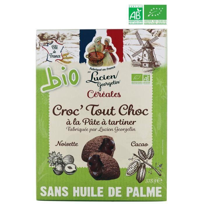 LUCIEN GEORGELIN Céréales Croc' Tout Choc bio - 375 g
