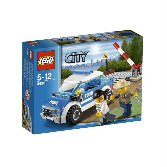 Lego city 4436 la voiture de patrouille achat vente assemblage construction cdiscount - Lego camion police ...