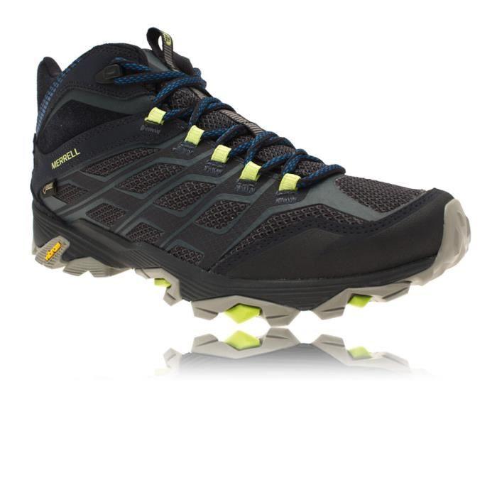 Merrell Marche Multicolore Chaussures Homme Tex Fst Moab De Mid Gore A4L3Rj5