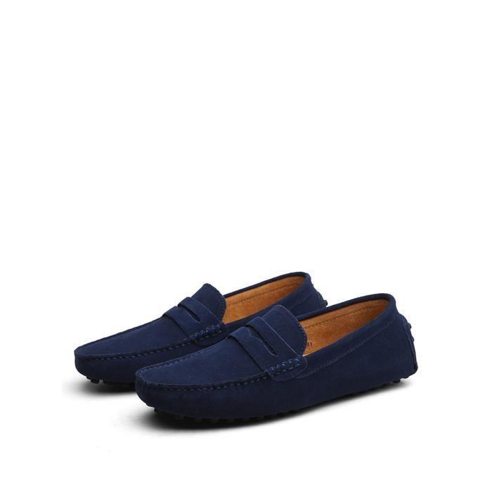 Glissement Hommes Ons Solide Couleur simple style décontracté Cozy Chaussures souples 2513316 A1PvVli5