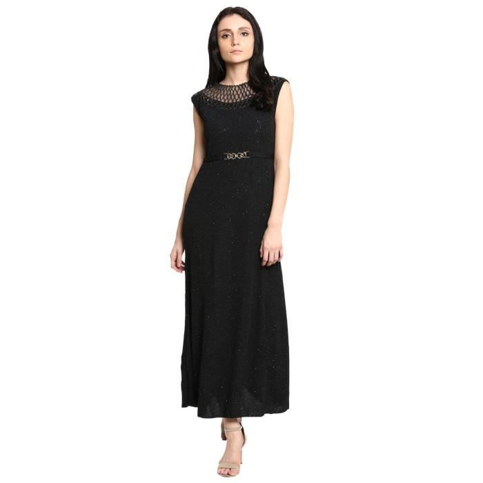 Womens Polynet Black Casual Dress For1DE4QN Taille-36