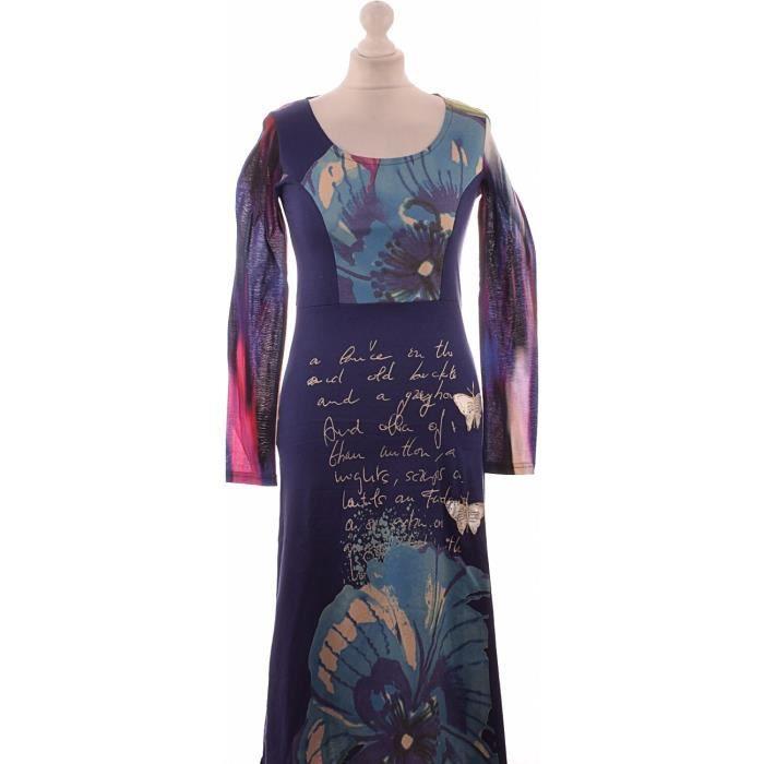 Desigual Bon Achat Très Vente Robe État Occasion Violet nOk80wPX