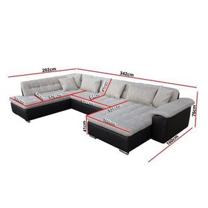 grand canape d angle achat vente grand canape d angle pas cher black friday le 24 11 cdiscount. Black Bedroom Furniture Sets. Home Design Ideas