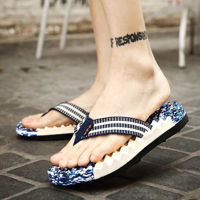 Coréen simples Sandales d'homme Tongs