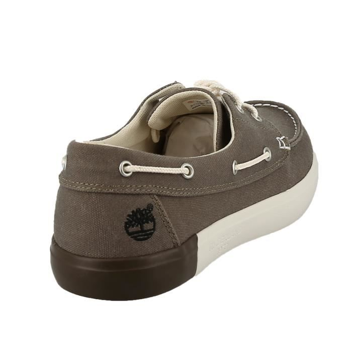 Chaussures bateau - TIMBERLAND NEWPORT BAY 41 Taupe