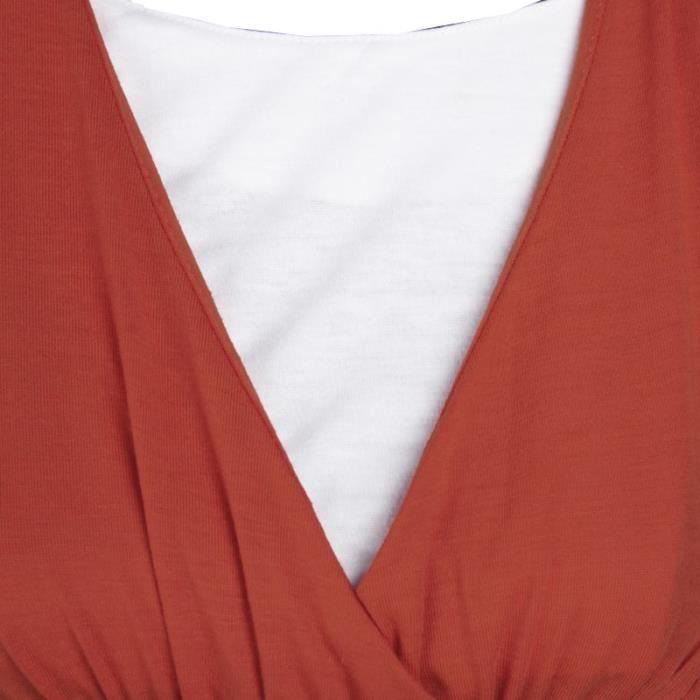 Femme chaud de grande taille en robe sans manches européen, un crayon, une jupe-ROUGE