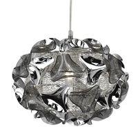 LUSTRE ET SUSPENSION Suspension 1 ampoule Triangle, en chrome, aluminiu