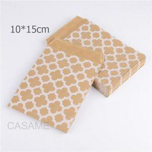 POCHETTE CADEAU Version honeycomb 10x15cm - 50 Pcs-Lot Traiter Bon