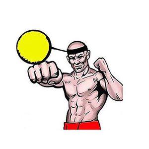 MANNEQUIN ENTRAINEMENT Battre la balle avec la bande de tête pour la form