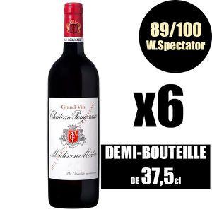 VIN ROUGE X6 Château Poujeaux 2015 37,5 cl AOC Moulis Rouge