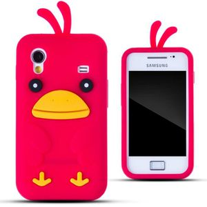 coque samsung galaxy ace rouge