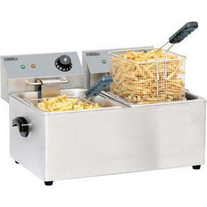 FRITEUSE ELECTRIQUE Friteuse électrique 2 x 8 litres