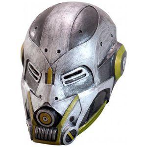 MASQUE - DÉCOR VISAGE Masque Robot High Tech adulte