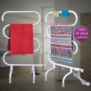 seche serviette sur pied achat vente seche serviette sur pied pas cher black friday le 24. Black Bedroom Furniture Sets. Home Design Ideas