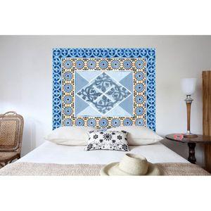 Tete De Lit Mosaiques 160 140 Cm Achat Vente Tete De Lit