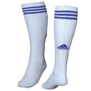 CHAUSSETTES FOOTBALL Chaussette de Foot ADIDAS Adisoc Blanc & bleu