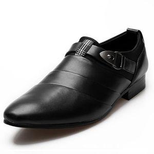 ESPADRILLE Hommes affaires cuir blanc mariage chaussures pour