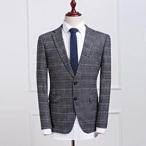 COSTUME - TAILLEUR Costume homme d affaire élégant veste boutons form ... 52fbaab94be