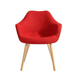 CHAISE Chaise Anssen rouge