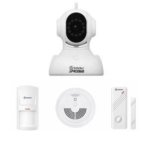 CAMÉRA DE SURVEILLANCE TecTecTec Kit SPRO360 - Caméra Surveillance WiFi H