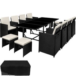 salon de jardin salon de jardin palma ensemble avec 8 chaises 4 - Ensemble Table De Jardin Et Chaises