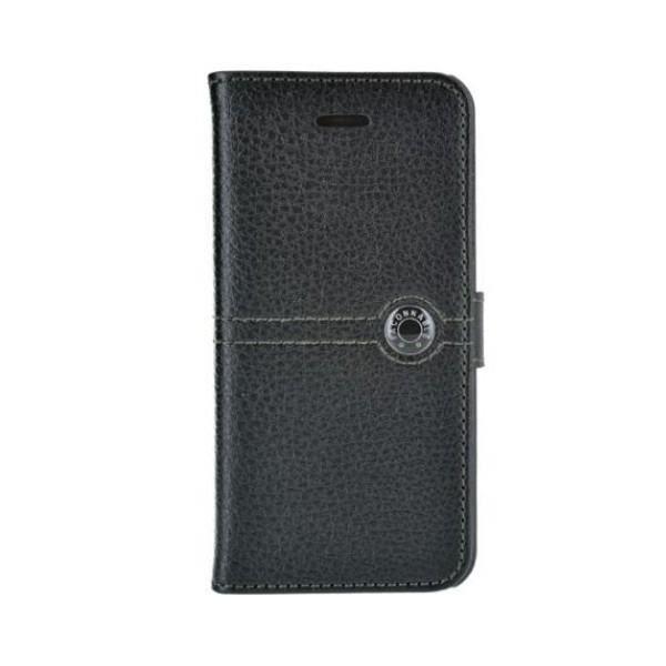 FACONNABLE Etui folio pour iPhone 5 / 5S - Noir