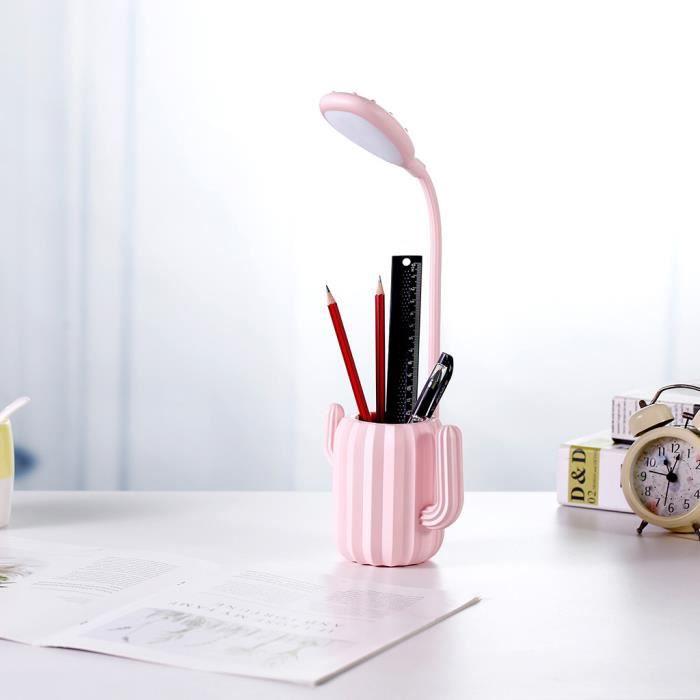 LAMPE A POSER Pen Holder Table LED Lampe de bureau Protection de