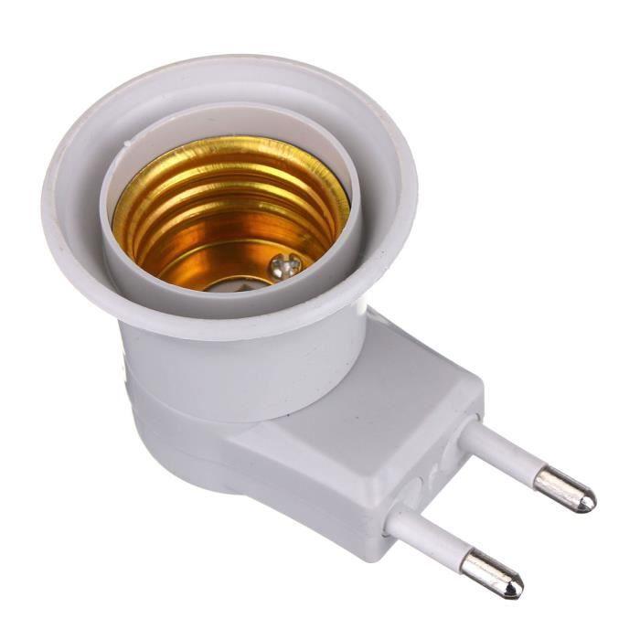 Secteur Led À Ampoule Socket Eu Prise E27 Douille Plug Mâle Onoff Culot Edison Neufu 7vIYgmfb6y