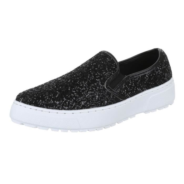 on Plat 1aw740 Taille Mocassins Femmes Ferm Trendtwo Slip 38 Chaussures Xw0tfxq