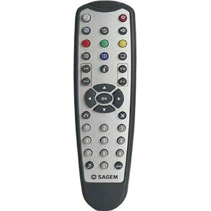 telecommande tntsat et tnt sagem t l commande tv avis et prix pas cher cdiscount. Black Bedroom Furniture Sets. Home Design Ideas
