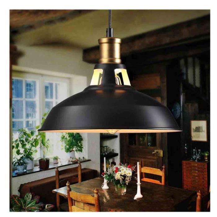 Stoex® Metal Retro Suspensions Luminaire Industriel Style