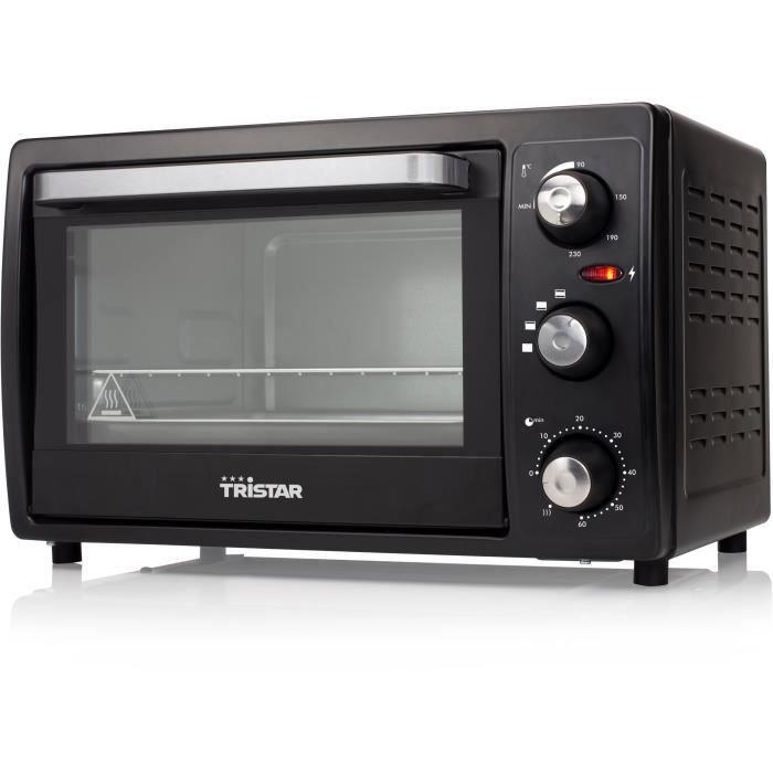 MINI-FOUR - RÔTISSOIRE TRISTAR OV-1437-Mini four grill-19 L-800 W-Noir