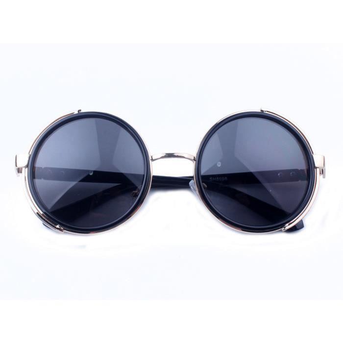 lunettes lunettes Les mode de gris voyage aviateur Noir miroir soleil vintage unisexe femmes hommes mode et clair rétro lumière de w7X7Rgqr