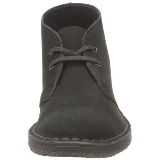 clarks originals - boots femme desert boot noir femme clarks desert boot