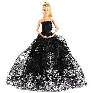 ACCESSOIRE POUPÉE 1pcs Barbie vetement, Robe pour barbie, Poupee rob