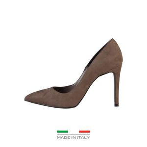 Made In Italie - Chaussures Monica taupes -Tacyoacute;n de 10cm 5XsoXg