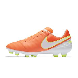 best loved e3a22 8a1ae CHAUSSURES DE FOOTBALL Chaussures football Nike Tiempo Legacy II FG Orang