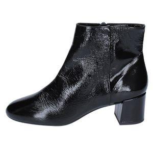 41616025354 BOTTINE UNISA Chaussures Femme Bottine Noir BS891