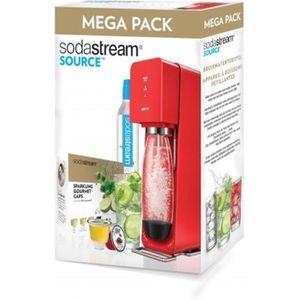 MACHINE À SODA Sodastream MegaPack rouge