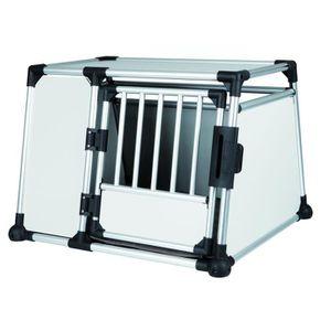 CAISSE DE TRANSPORT TRIXIE Box de transport pour chien alu 93x65x81 cm