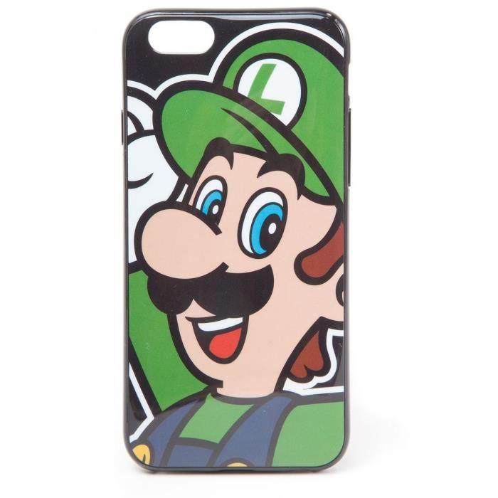 Coque pour Iphone 6 Mario: Luigi